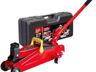 Car Jack 2 Ton Hydraulic Trolley lift Auto Service floor With Carrying Storage