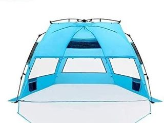 Cocorika X large Easy Setup Beach Tent   Automatic Pop Up 4 Person Instant Su