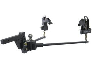 Blue Ox BXW1000 SWAYPRO Weight Distributing Hitch 1000lb Tongue Weight for Standard Coupler with Clamp On latches
