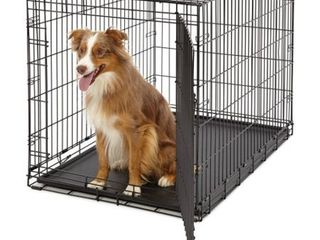 Midwest life Stages Single Door Folding Metal Dog Crate  42 Inches by 28 Inches by 31 Inches