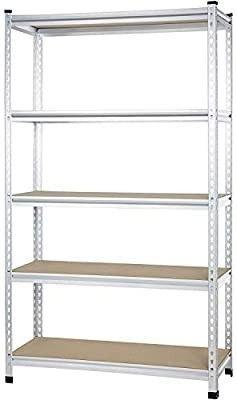 Amazonbasics Medium Duty Shelving Single post Press Board Shelf   121 X 45