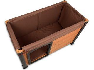 Precision Pet log Cabin Style Dog House Insulation Kit large