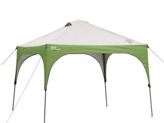 Coleman 10 x10  Instant Canopy Sun Shade Tent with 3 Minute Setup