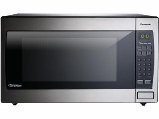 Panasonic NN SN966SR 2 2cuft luxury Microwave with Inverter Technology
