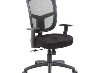 Boss Office Products  BOSXK  Contract Task Chair with Synchro Tilt Mechanism  Black