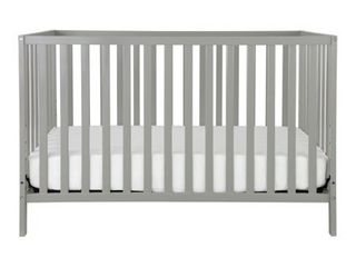 Union 3 in 1 Convertible Crib in Grey  Greenguard Gold Certified