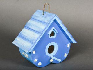 CERAMIC BIRD HOUSE