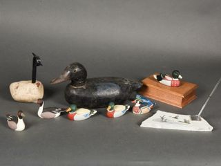 GROUPING OF WIlD DUCK COllECTIBlES