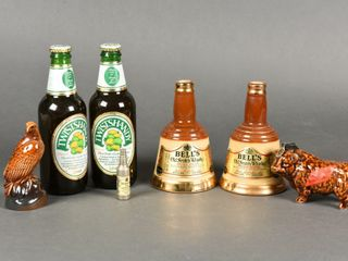 GROUPING OF SCOTCH WHISKEY   lABATT COllECTIBlES