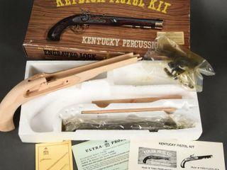 KENTUCKY PERCUSSION REPlICA PISTOl KIT  BOX