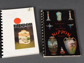 lOT OF 3 NIPPON PORCElAIN COllECTOR BOOKlETS