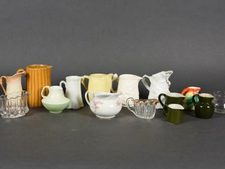 lARGE GROUPING OF VINTAGE PITCHERS