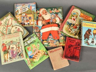 GROUPING OF 9 VINTAGE CHIlDREN S BOOKS