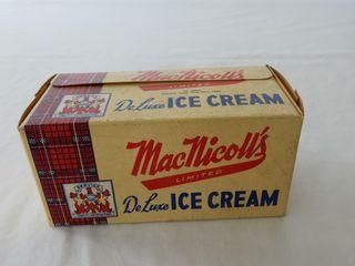MacNicoll s DElUXE ICE CREAM PINT PACKAGE