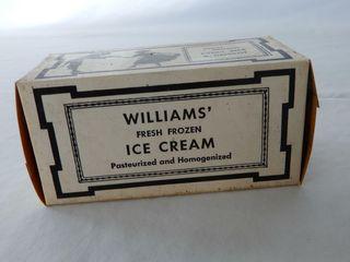 WIllIAMS  DElHI  ONT  ICE CREAM PINT PACKAGE