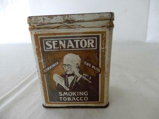 SENATOR SMOKING TOBACCO CAN