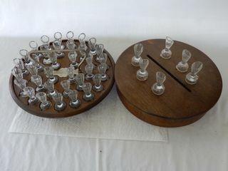 1896 lEPAGE INDIVIDUAl COMMUNION CUPS   BOX