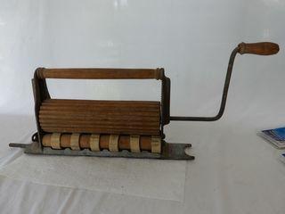 1874 WAlKER   WASHER CRIMPING METAl MACHINE