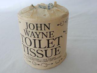 1994 JOHN WAYNE TOIlET TISSUE FUll ROll