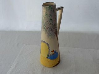 ROYAl HAND PAINTED WATER PITCHER