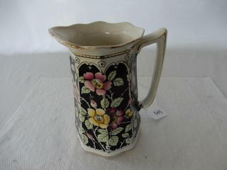VINTAGE HAND PAINTED WATER PITCHER