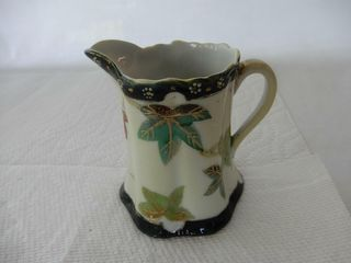 NIPPON HAND PAINTED CREAM PITCHER
