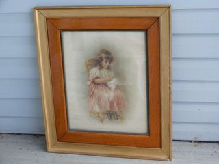 EARlY THE PRINCESS   AT WORK FRAMED PRINT