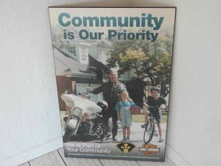 OPP   HARlEY SPONSORS  COMMUNITY IS OUR PRIORITY