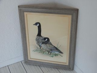 FRAMED DON HARRIS CANADA GOOSE PICTURE