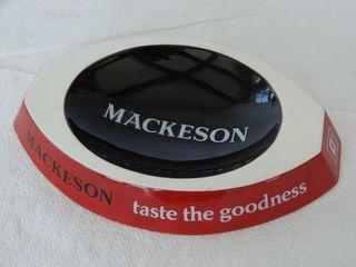 MACKESON BEER  TASTE THE GOODNESS  PEANUT DISH