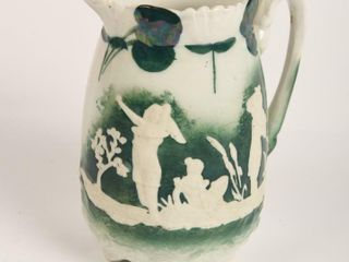 VINTAGE EMBOSSED SMAll PITCHER
