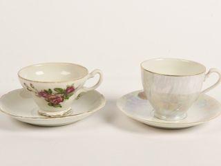 lOT OF 2 VINTAGE TEA CUPS