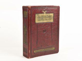 RARE1951 AMERICAN RIFlEMAN BOUND BOOK