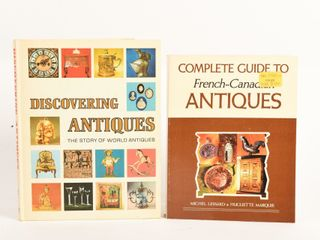lOT OF 2 GUIDES TO COllECTING ANTIQUES