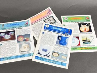 GROUPING OF 5 SHEllEY NEWSlETTERS
