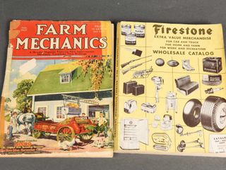 lOTOF 2   1921 FARM   1948 FIRESTONE CATAlOGUES