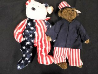 Beanie Buddies Samuel  Attic Treasures    Spangle