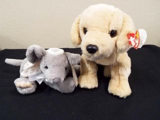 Beanie Buddies Fetch and Holiday Time Plush