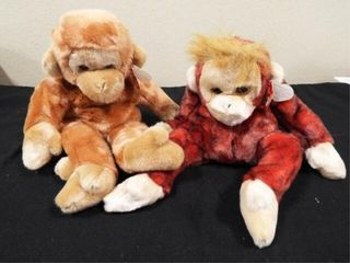 Beanie Buddies Bongo and Schweetheart