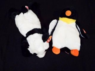 Beanie Buddies Waddle and Peking