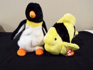 Beanie Buddies Bubbles and Waddle