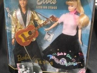 Barbie loves Elvis Gift Set  c 1996