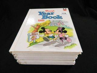 Disney Yearbooks  9 Volumes
