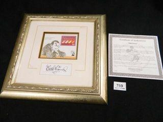 limited Edition Stamp  Walt Disney