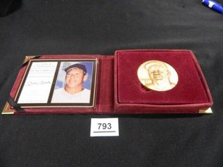 Mickey Mantle Bronze Mint Coin