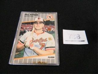Bill Ripken Baseball Card  Fleer