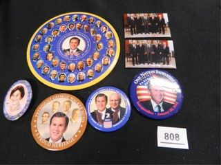 George W  Bush Political Buttons 5