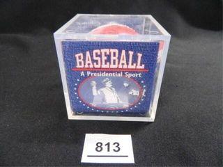 Baseball A Presidential Sport