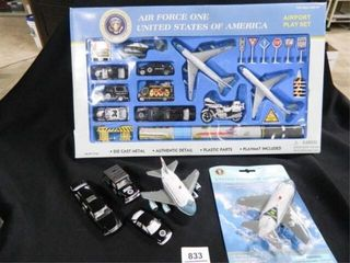 Air Force One Playset 30 pieces