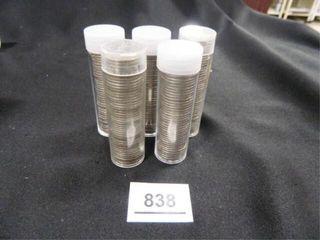 Jefferson Nickels  1940 s   50 s   60 s
